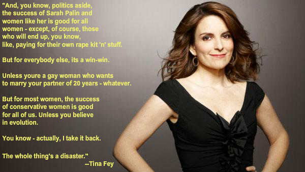 Tina Fey On The \'Success\' Of Sarah Palin In One Super ...