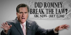 "BREAKING: New TV Ad Asks ""Mitt Romney's Not A Crook, Right?"""