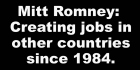 What If Every Voter Knew The Truth About About Mitt Romney's 'Job Creation' Record?