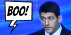 See What Made Seniors Boo Paul Ryan Over And Over Again