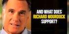 WHOA: Romney Backs Candidate Who Says Rape Pregnancies Are Intended By God