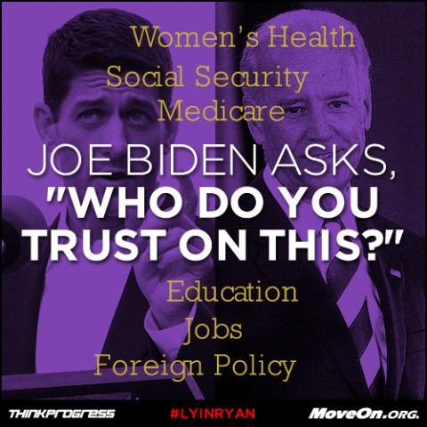 When Biden Asks 'Who Do You Trust On This?', You Give The Man An Answer