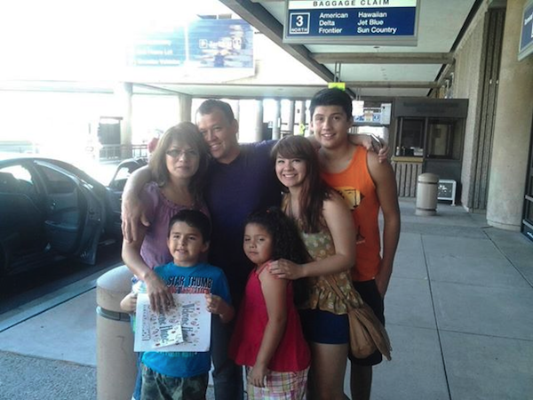 Reyna and Family