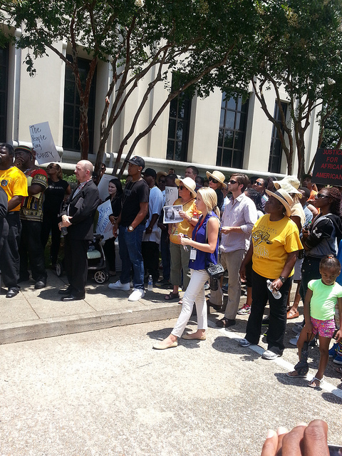 Zimmerman verdict protest