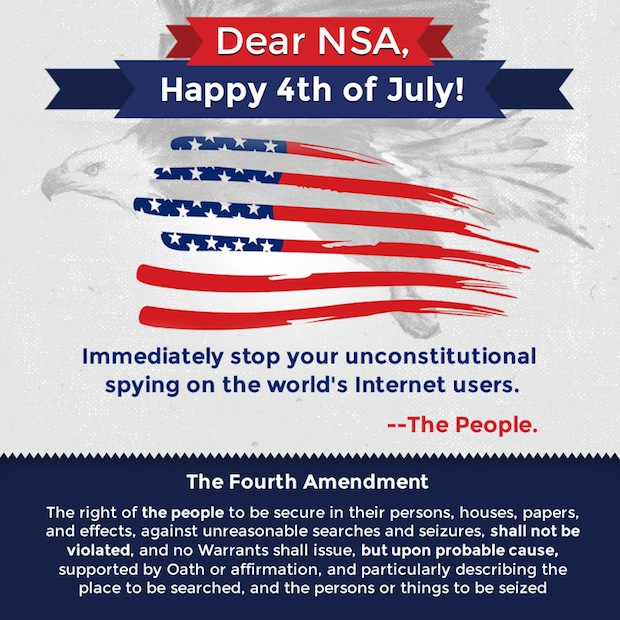 Happy 4th of July, Happy 4th Amendment