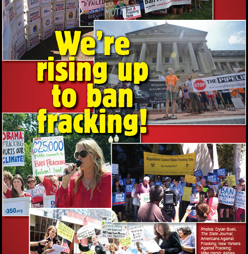 Americans are speaking with a unified voice: no fracking on public lands, or anywhere else.