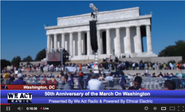 March on Washington live stream