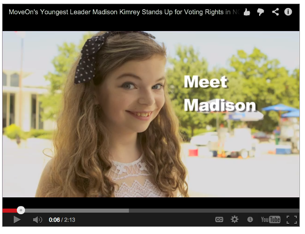 Madison Kimrey video