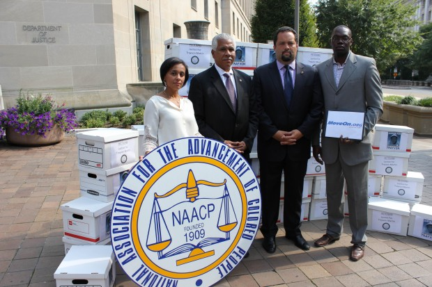 NAACP and MoveOn deliver Trayvon Martin petition