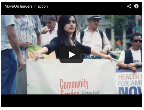 MoveOn Leaders in Action Video