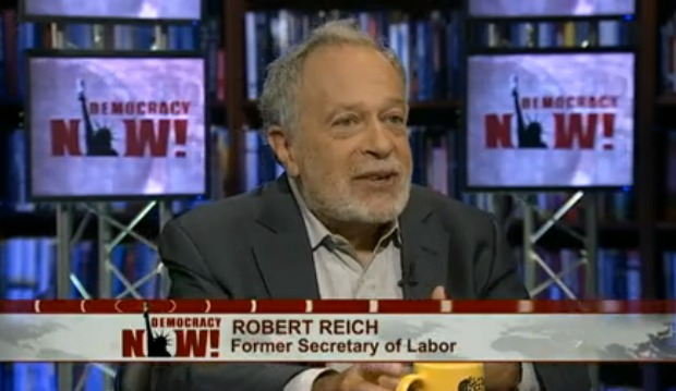 Reich on Democracy Now