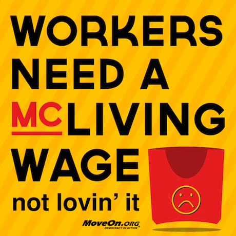 Workers need a McLivingWage