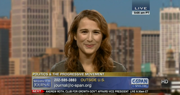 Anna Galland on C-SPAN