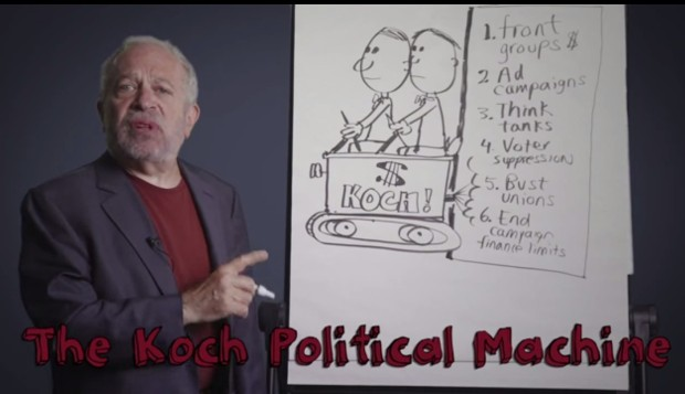 Robert Reich- America has a Koch Problem