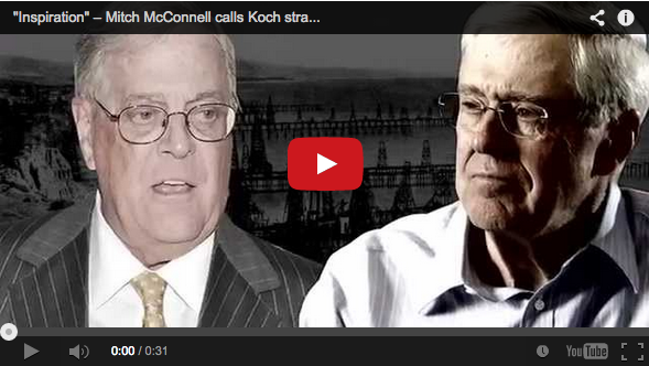 Koch brothers ad