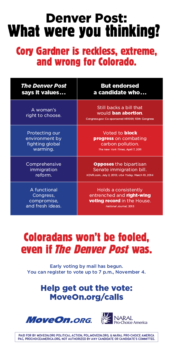 Denver Post: What were you thinking?