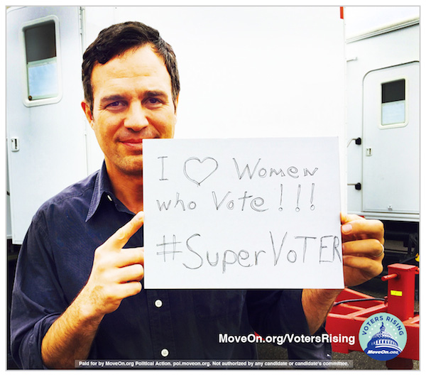 Mark Ruffalo loves Supervoters