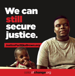 Justice for Mike Brown -- Color of Change