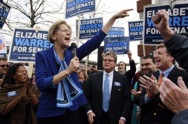 Elizabeth Warren, Edward M. Kennedy Jr., Patrick Kennedy