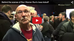 Run Warren Run Iowa Kickoff