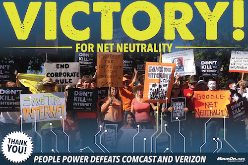 Net Neutrality Victory