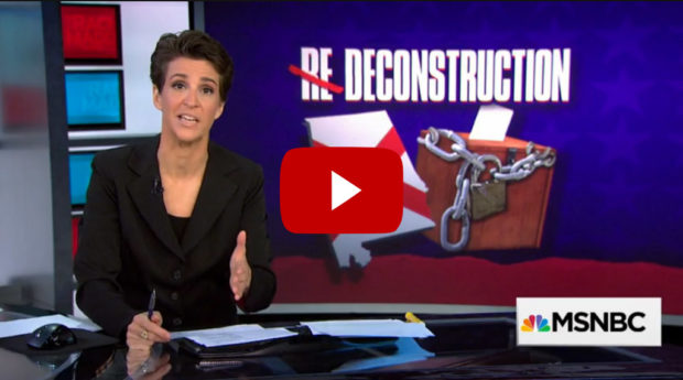 Rachel Maddow covers AL DMV closings