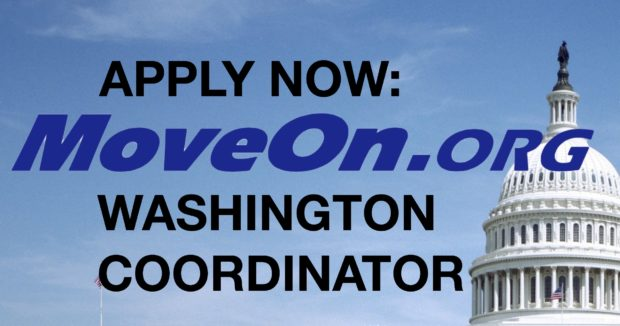 MoveOn Washington Coordinator