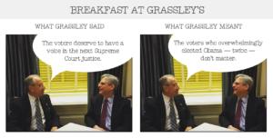 Breakfast at Grassley's 1