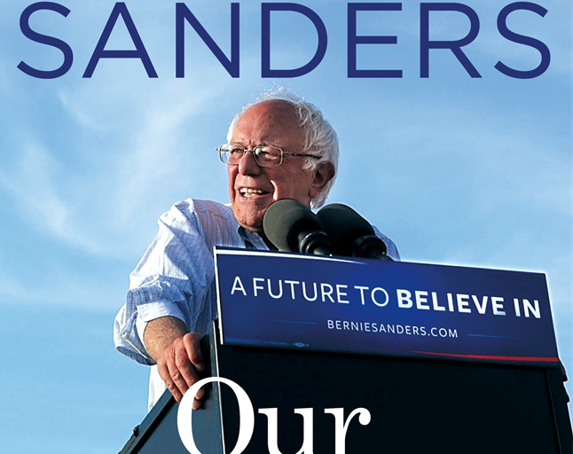 "Bernie Sanders' new book, ""Our Revolution"""