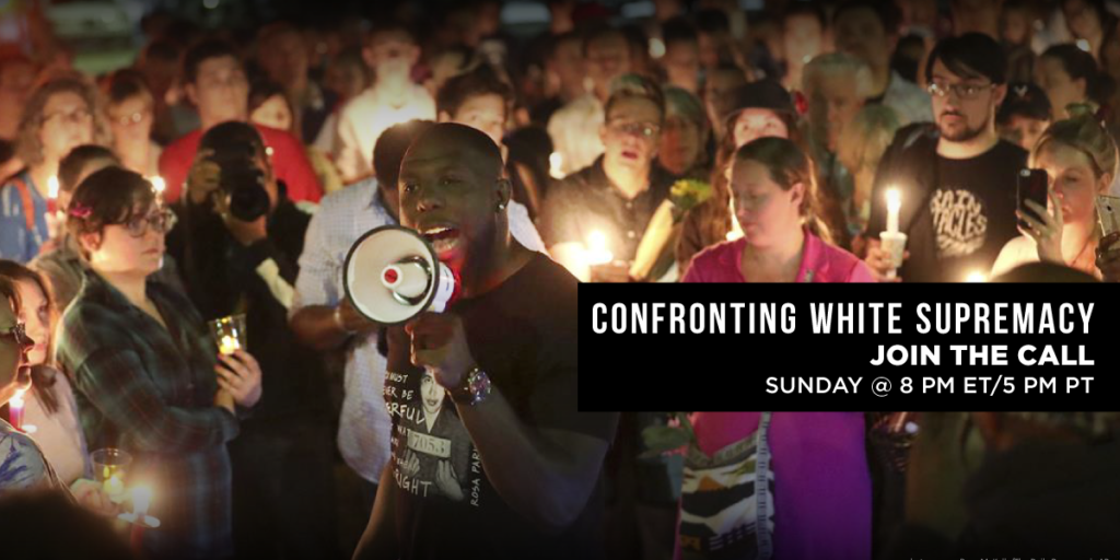 Join the call this Sunday, August 20 at 8 p.m. ET.