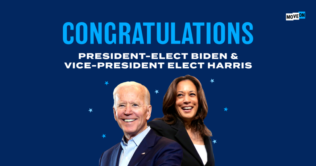 Biden and Harris win